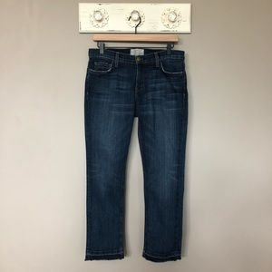 Current/Elliott | The Cropped Straight Jeans
